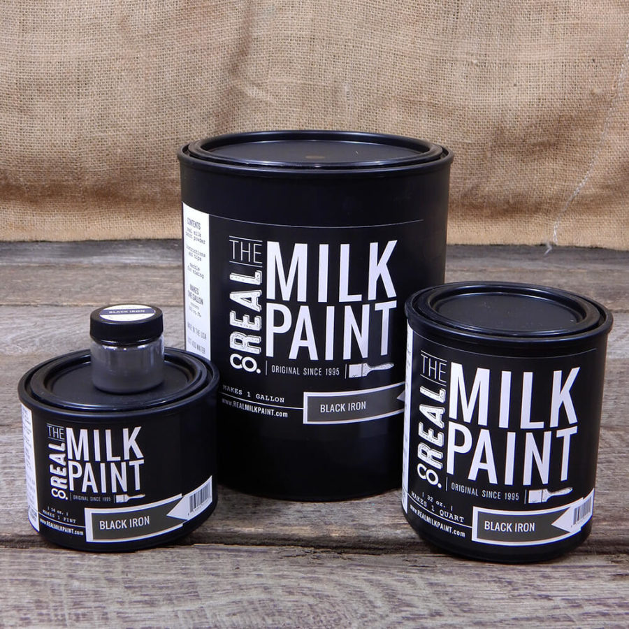 black iron surtido the real milkpaint
