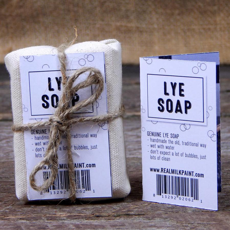 lye soap - jabon de lejia para cepillos - pintura milkpaint