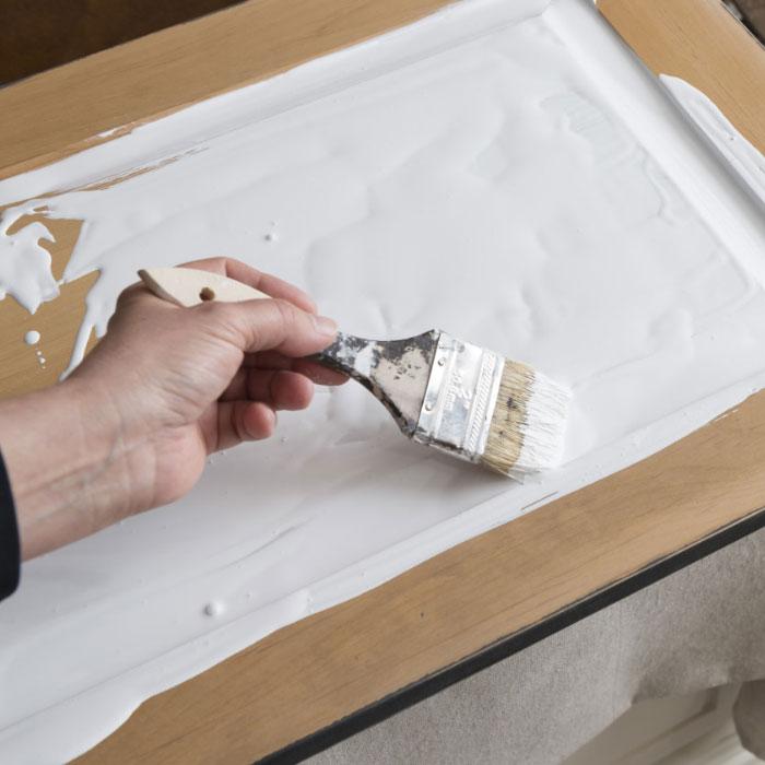 capa base de crackled texture