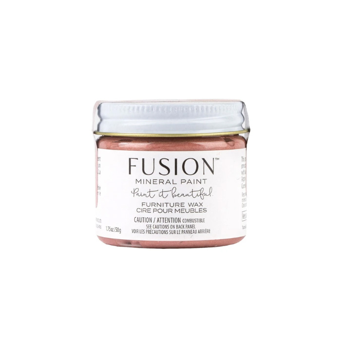 fusion mineral furniture wax rose gold