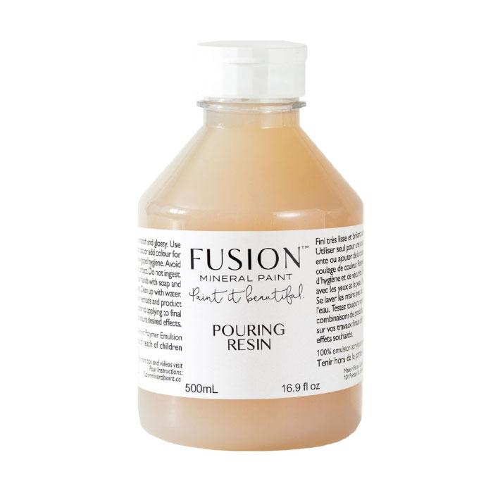 fusion pouring resin medium